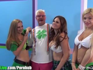 Teen Gf Gets Fucked Fucking, St.Patricks pornstar orgy party Vol.5 Orgy Hardcore Pornstar Party