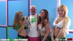 St.Patrick's pornstar orgy party! Vol.5