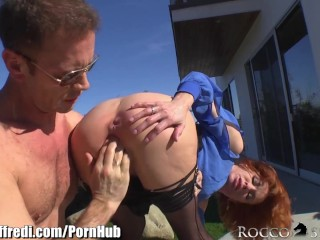 Unexpected Porn Videos Rocco Siffredi Makes Veronica Avluv Squirt