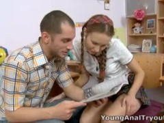 Young Anal Tryouts – That cute schoolgirl face