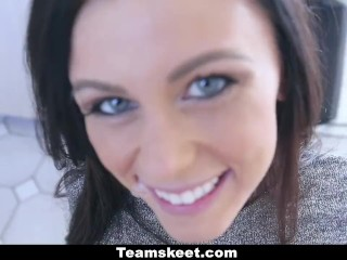 CFNMTeens - Horny Whitney Westgate Wants A Quickie!