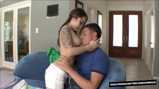 Little Cute Teenager Fucks Her Older Neighbor big cock young hardcore asian shaved pussy blowjob teen cute shockingdaughters pigtails cumshot tattoo pigtail natural breasts teenager petite