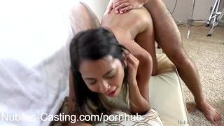 Nubiles Casting - Hungry for cock and fame Sucking amateur