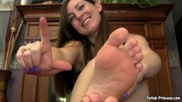 fetish princess cristi feet pov