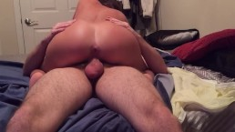 Slut Loves Getting Her Ass Stretched When She Fucks