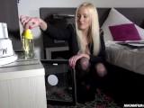 MAGMA FILM German Blonde Babe enjoys it hard