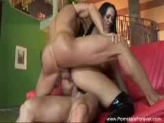 Carmella Bing Anal DP Threesome Amazing Fuck