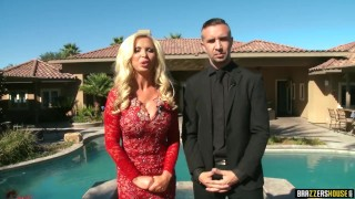 Brazzers House: Season 1  Full 1st episode - Brazzers Big threesome
