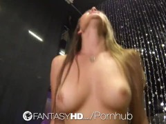 Red head gets fucked at party
