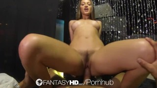 HD FantasyHD - Hot babe Dani Daniels fucks guy at strip club Pie daughter