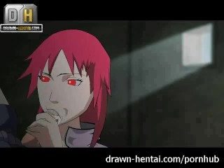 Preview 2 of Naruto Porn - Karin comes, Sasuke cums