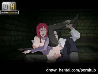 Preview 3 of Naruto Porn - Karin comes, Sasuke cums