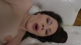 Buon debuttante anale