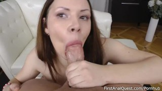 Good anal first-timer Doggystyle stepbrother