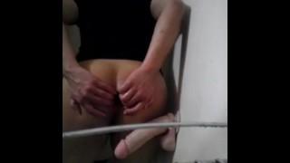 fucking my dildo! porno