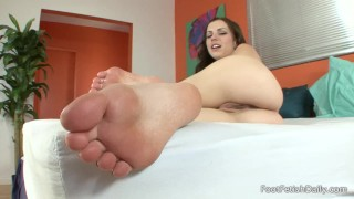 Lexi Belle - Foot Fetish JOI  feet joi foot joi point of view foot licking foot solo small tits soles pov kink foot fetish petite feet foot worship natural tits foot sucking foot fetish daily lexi belle