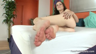 Lexi Belle - Foot Fetish JOI  foot joi point of view foot licking foot solo small tits soles pov kink lexi belle foot fetish petite feet foot worship natural tits foot sucking foot fetish daily feet joi