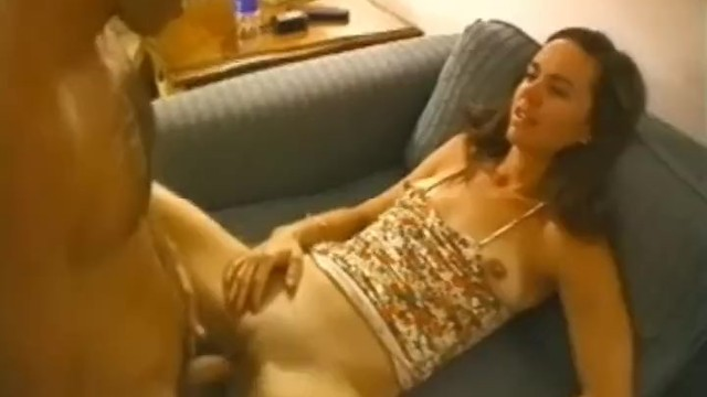 Totally shaved - Cheating housewife creampied by total stranger
