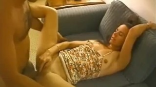 Cheating stranger housewife creampied by total amateur style