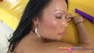 PervCity Mya Luanna Asian Ass Fuck Tits shaved