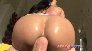 PervCity Mya Luanna Asian Ass Fuck butt fucking gaping deep throat oral sex milf asian curvy pervcity blowjob hot ass mom thai gagging anal ass fuck natural tits big dick upherasshole