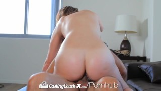 HD CastingCouch-X - Sweet Brooke Wylde shows big boobs in audition
