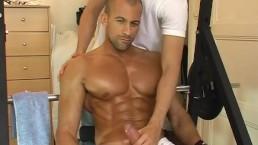 Testing his big cock: Breno latino exposed!