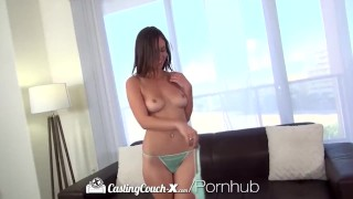 HD CastingCouch-X - Exotic looking Jade Nile is on the casting couch Orgasms friendly