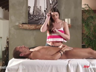 New Sensations - Brooklyn Chase Seduces Her Step-Brother