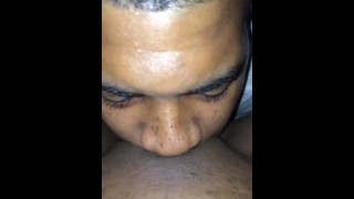 Tongue head action best that amazing eater pussy pov head