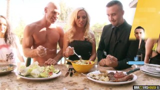 Brazzers House: Season 1 Full 3rd episode - Brazzers Ginger solo