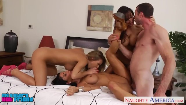 Nicole hosang nude Sexy girls jessica jaymes, lisa ann and nicole aniston sharing cock