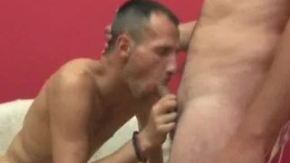 Man dick his mouth hairy that loves in cock sucking