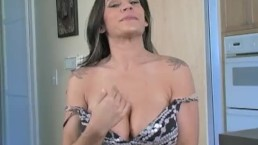 Raylene - Fucking Raylene's Huge Tits with My Tiny Cock