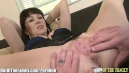Whorey Mom Caught Ass-Fucking Son-in-Law
