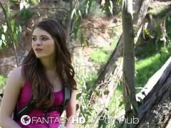 HD FantasyHD – Alice March has wild outdoor sex