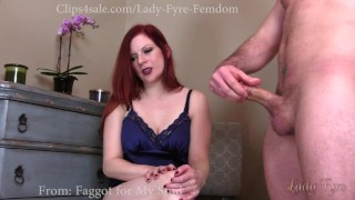 Cuckold and Encouraged Bi Sampler by Lady Fyre  olivia fyre lady fyre hairy pussy cuckold humiliation redhead femdom big dick kink joi nylon personal trainer gym bisexual cuckold cheating wife encouraged bi