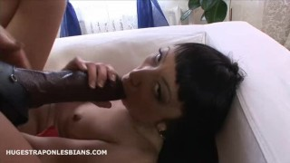 Leila gets anal gaped by Kate with a huge strapon dildo  strap on asian anal lesbian anal gape lesbian strap on strapon hugestraponlesbians dildo asian ass to mouth anal extreme insertion anal gape dildo ride brutal dildo huge dildo lesbian strapon