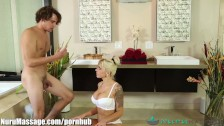 NuruMassage Son Fully Serviced by Step-Mom FULL SCENE - duration <span class=