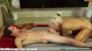 Scene stepmom by serviced fully son nurumassage full mother blonde