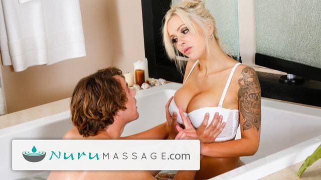 Roxanna pornstar Nurumassage son fully serviced by step-mom full scene