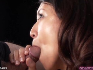 Beautiful Japanese Teen Sucks Cock