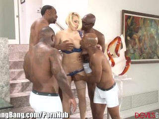 Bbw Milf Homemade Kagney Linn Karter Gangbanged by 4 Black Guys
