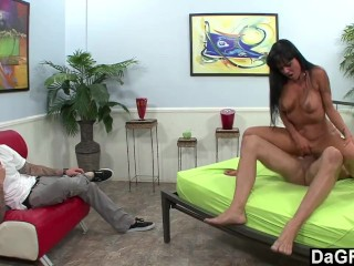 Plumber fucks housewife in ass