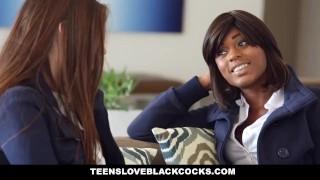 TeensLoveBlackCocks - 18 yr Elektra Rose First Time with a BBC!