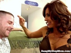 Hot Stepmom Can't Resist Stepson's Big Dick!