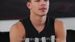 HD GayCastings - Ethan shows his deepthroat talent at his audition