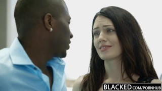 BLACKED My Girlfriends Hot Sister Cassidy Klein Loves BBC Young cock
