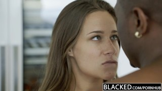 BLACKED My Girlfriends Hot Sister Cassidy Klein Loves BBC Laparan downblouse