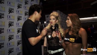 PornhubTV Christie Stevens Interview at 2015 AVN Awards